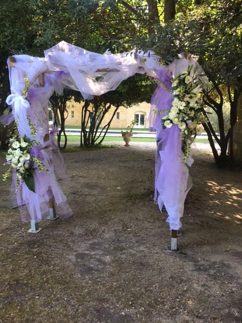 aches de fleurs mariage