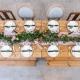 Décoration florale reception mariage