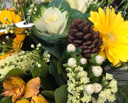Bouquets de fleurs et compositions florales de saison