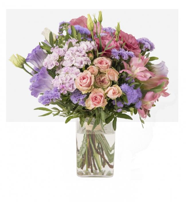Douceur (bouquet de fleurs mélangés) 35€
