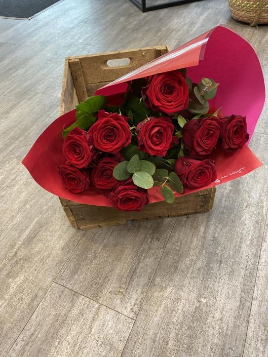 Bouquet de Roses rouges (9 roses) - 30€